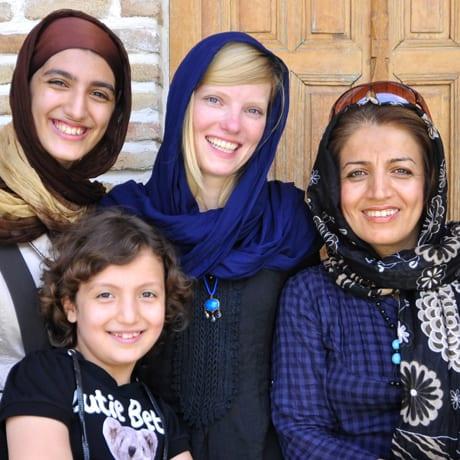 En Iran il faut être voilée, c'est la loi