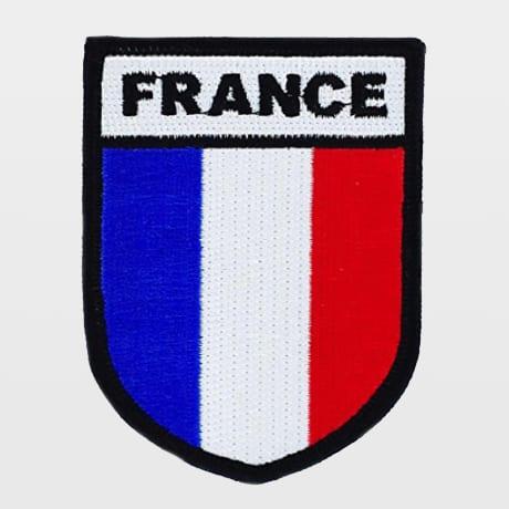 Écusson France à coudre sur son sac