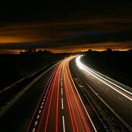 Autoroute Nuit