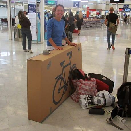 Carton vélo Aéroport
