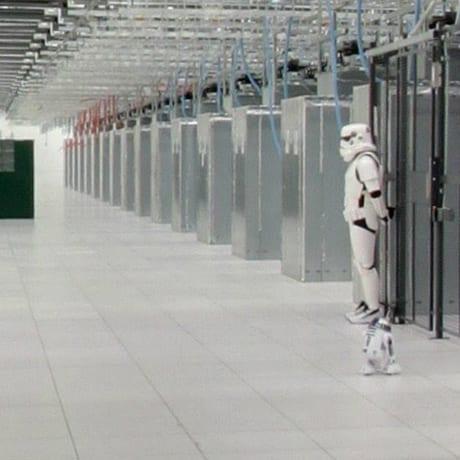 Data center trooper