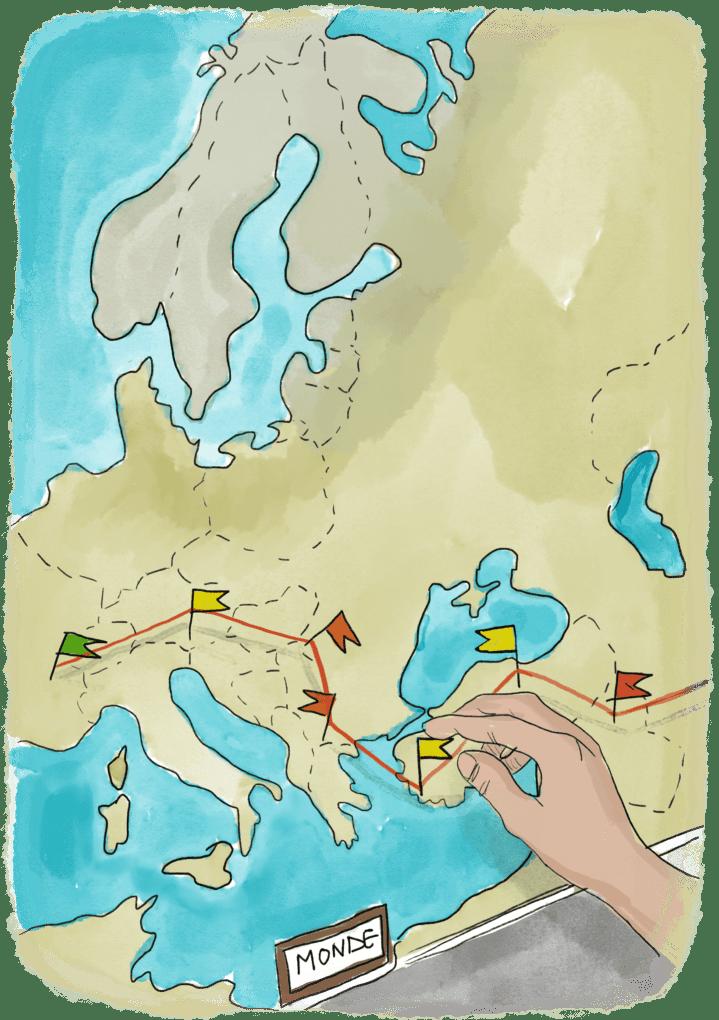 Choisir son itinéraire de tour du monde