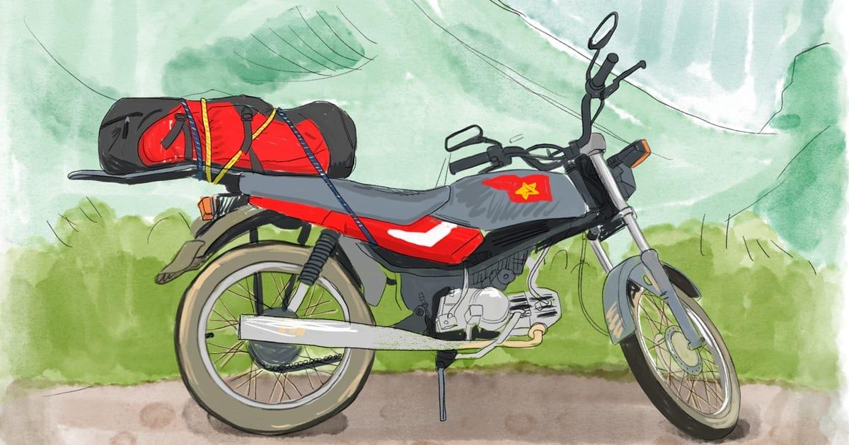Acheter Une Honda Win Pour Faire Un Road Trip à Moto Au Vietnam