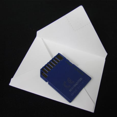 Mini Enveloppe Carte Memoire