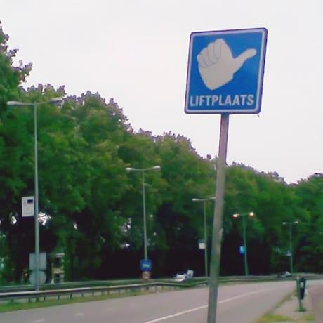Panneau Autostop