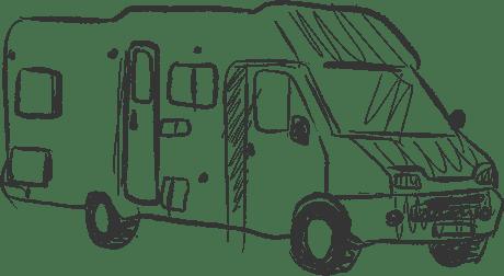 Camping car profilé