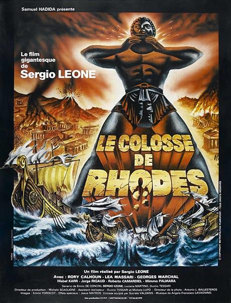Affiche Le Colosse De Rhodes