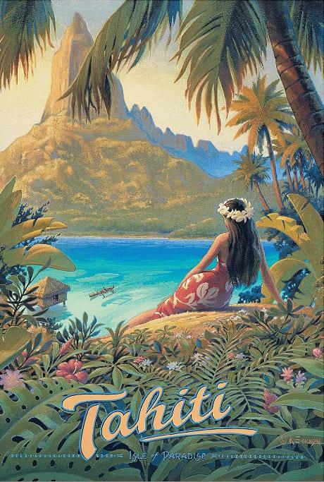 Affiche Tahiti