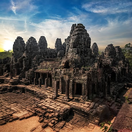 Cambodge temples d'Angkor