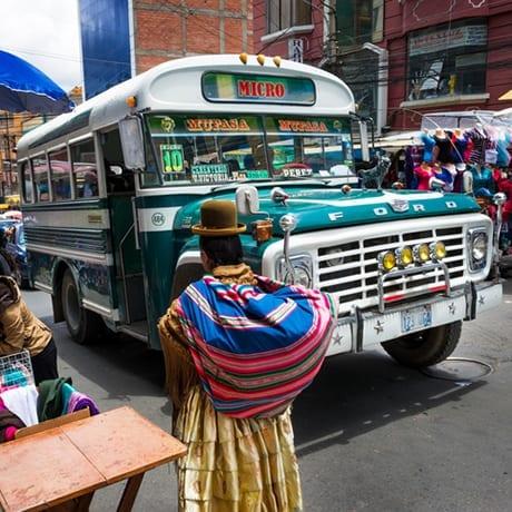 Bus à La Paz