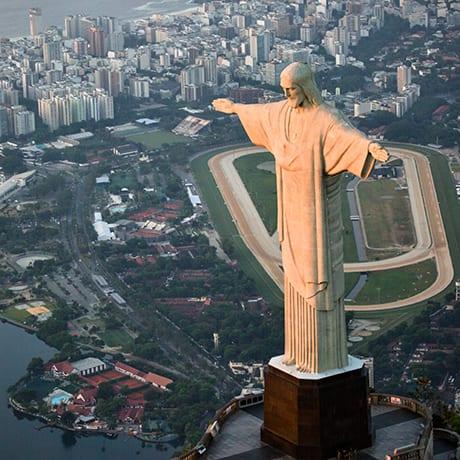 Christ rédempteur au Brésil