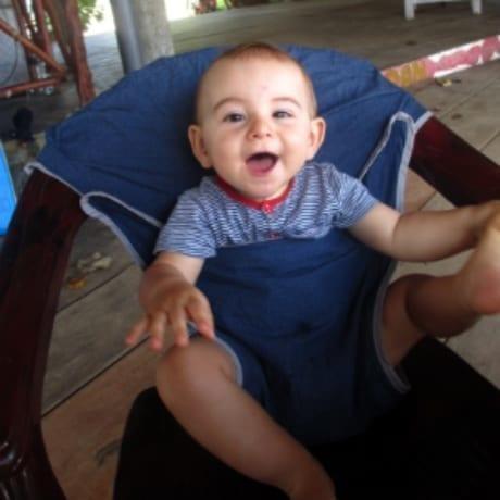 Adaptateur de chaise en tissu pour bébé