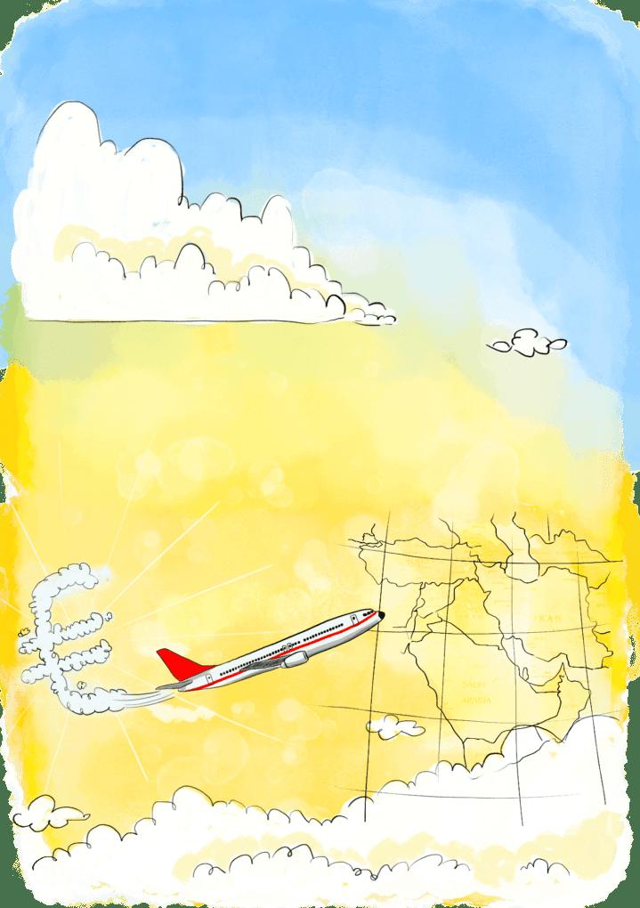 Compagnies d'avion low cost au Moyen Orient
