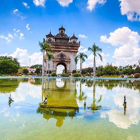 Laos Victory Gate