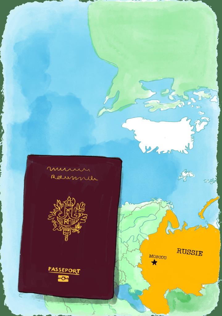 Comment faire son visa pour la Russie