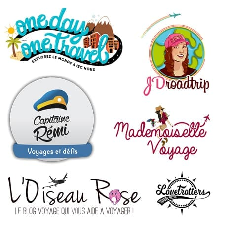 Exemples de logos de blogs