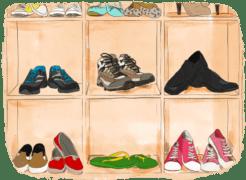 Comparatifs des meilleures chaussures pour voyager