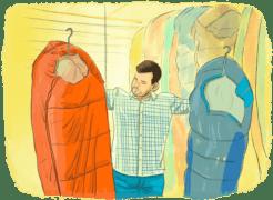 Choisir un sac de couchage pour faire le tour du monde