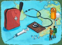 La santé en tour du monde