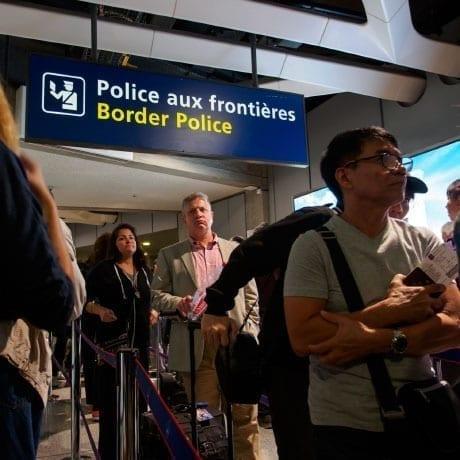 File dans l'aéroport de Paris