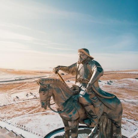 Statue de Gengis Khan