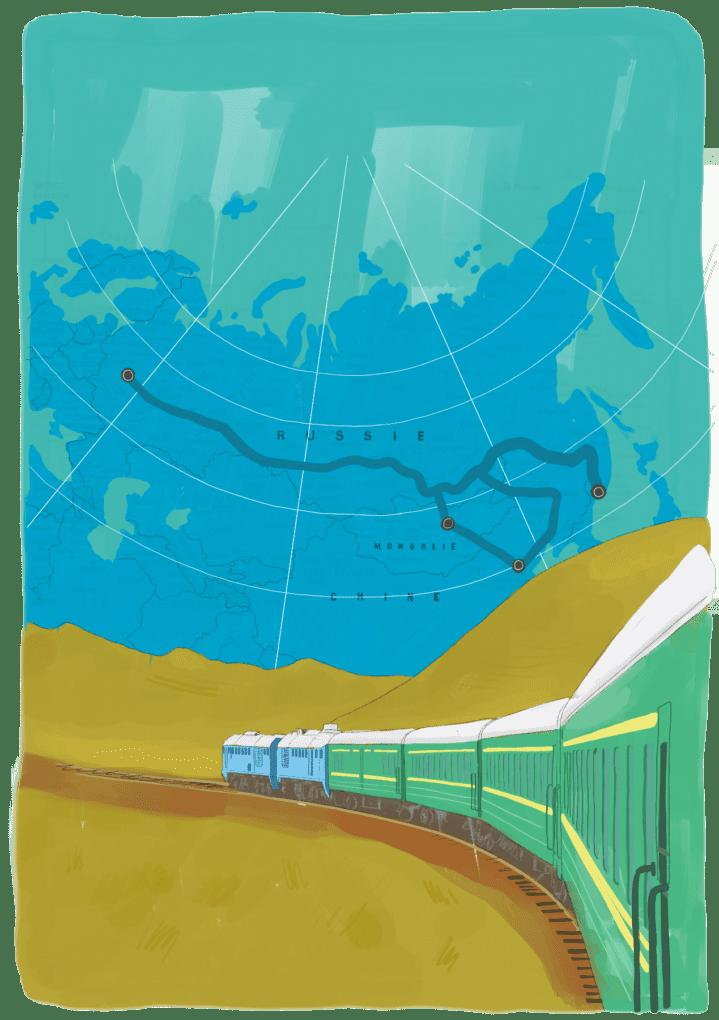 Voyager en en transsibérien