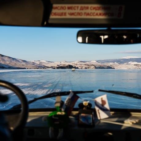 Le lac Baïkal en voiture
