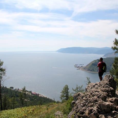 Lac Baikal en été