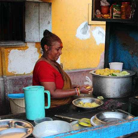 Nourriture Rue Inde