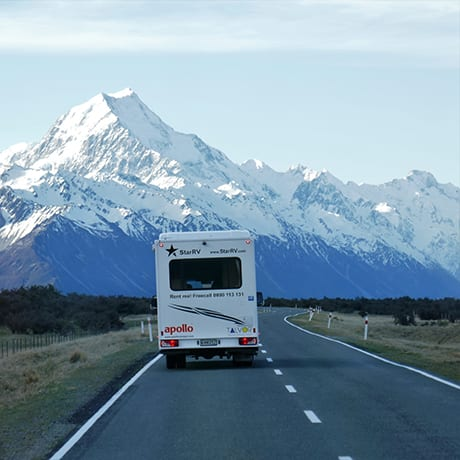 Camping Car Mount Cook