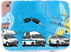 Louer un van, un camping car ou une voiture en Nouvelle Zélande