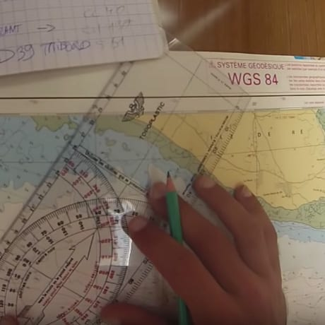 Traçage route maritime