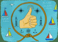 Faire du bateau-stop ou du cobaturage