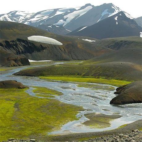 Trek Landmanalaugar Islande
